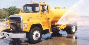 Construction Water Truck